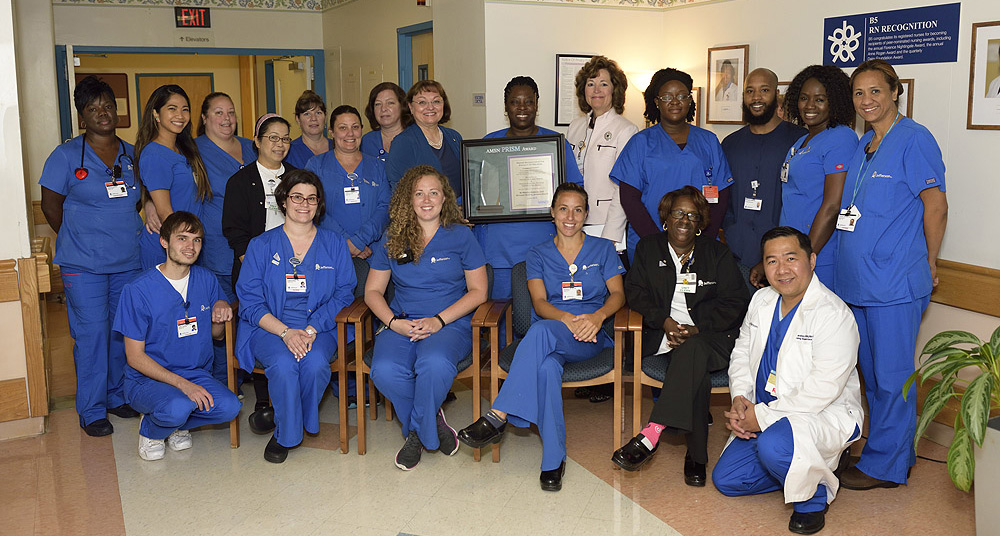 B5 Medical-Surgical Unit, Methodist Hospital, Jefferson Health, Philadelphia, PA